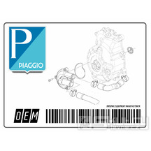Vložka vzduchového filtru pro Piaggio Beverly, MP3 a X10 350ccm