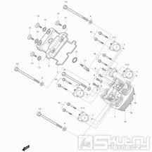 01v Hlava válce přední - Hyosung GT 250i N (Naked)