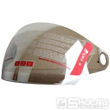 Plexi stříbrné pro přilby Speeds City II