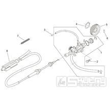 29.40 Olejové čerpadlo - Scarabeo 100 2T (motor Minarelli) 2000 - ZD4REA...