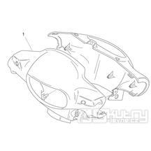 28.06 Kapotáž předního světla - Scarabeo 50 2T (motor Minarelli) 1998 - ZD4PF00/1/2/3, ZD4PFA/B/C/D/E