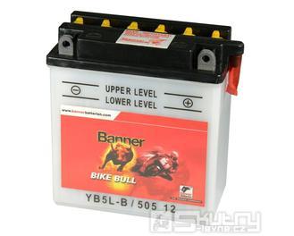 Olověná baterie Banner YB5L-B