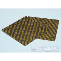 Karbonové lístky Polini - 110x100/0,25mm žluté