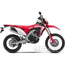 Honda CRF450L - barva červená