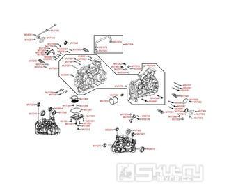 E01 Kliková skříň - Kymco MXU 400