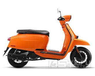 Lambretta V50 Special Fix - barva oranžová