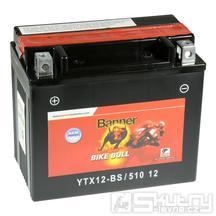 Gelová baterie Banner YTX12-BS