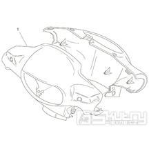 28.05 Kapotáž předního světla - Scarabeo 100 2T (motor Minarelli) 2000 - ZD4REA...