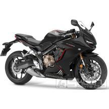 Honda CBR650R - barva černá matná