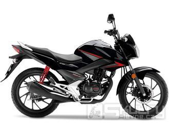 Honda CB125F - barva černá