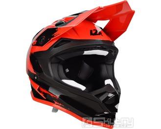 Přilba Lazer OR-1 Ripper Red/Black - velikost XS