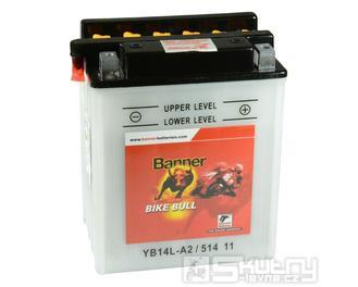 Olověná baterie Banner YB14L-A2