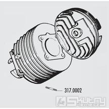 Šteft výfuku Polini 8 x 32 mm