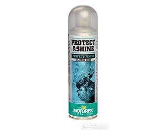 Čistící prostředek Motorex Protect & Shine - objem 500 ml