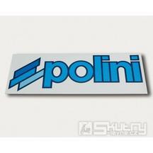 Logo Polini 245 x 85 mm na koženém podkladu