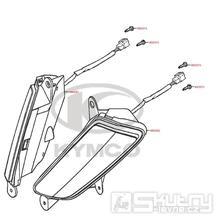 F17 Přední blinkry - Kymco MyRoad 700i ABS SAADAB