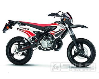 Malaguti XSM 50 ccm - pozastavená výroba - barva bílá/černá