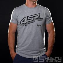 Tričko 4SR Logo Grey