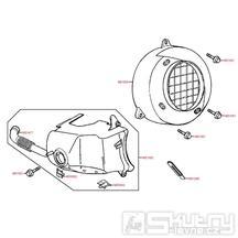 E01 Kryt motoru - Kymco Vitality 50 2T