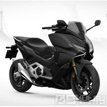 Honda Forza 750 DCT E5 - barva černá