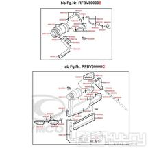 F23 Sekundární vduchový systém - Kymco MyRoad 700i ABS SAADAB