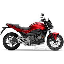 Honda NC750S - barva červená
