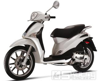 Piaggio Liberty 125 - model 2013 - barva bílá