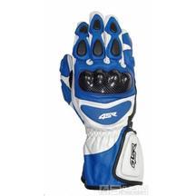 Moto rukavice 4SR Sport Cup - barva modrá, velikost S