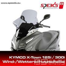 Přední plexi Speeds pro skútr Kymco X-Town 125 a 300ccm
