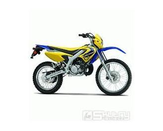 Malaguti XTM 50 ccm - pozastavená výroba - barva oranžová