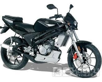 Rieju NKD 50 - barva černá