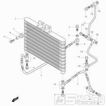 03 Chladič oleje - Hyosung GT 250i N (Naked)
