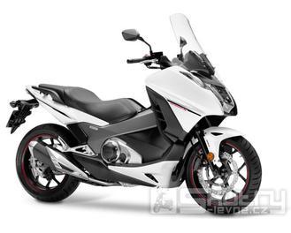 Honda Integra 750 DTC - barva bílá