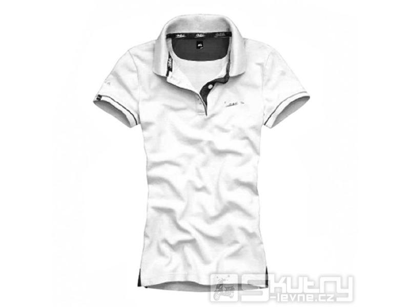 0a5cc839d0f Dámské polo tričko Vespa 946 White - barva bílá