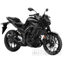 Yamaha MT-03 - barva černá