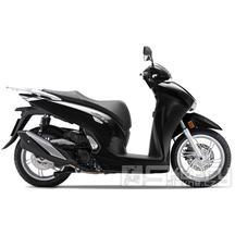 Honda SH 350i E5 Smart top box - barva černá