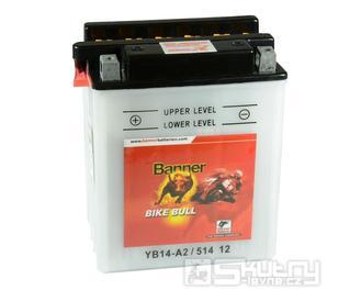 Olověná baterie Banner YB14-A2