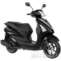 Yamaha D'elight 125 - barva černá