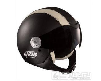Přilba Lazer Rider Leather - barva černá, velikost XS