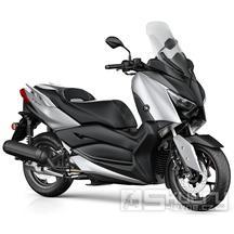 Yamaha X-Max 125 - barva stříbrná matná