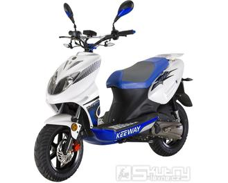 Keeway F-ACT NKD 50 - barva bílá/modrá