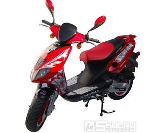 Kingway HOOLIGAN 50 - barva červená