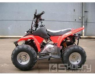 Čtyřkolka Dragon 110 ccm - barva červená