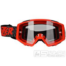 Crossové brýle Lazer Track Red/Black/Red