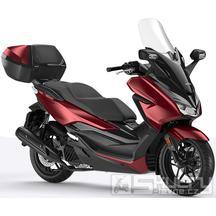 Honda Forza 125 ABS + Smart Key Horní Kufr 45L - barva červená