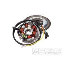 Kompletní zapalování pro motor Minarelli AM6 s elektrickým startérem
