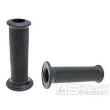 Gripy Domino 1159 On-Road v černém provedení s otevřeným koncem o délce 115mm