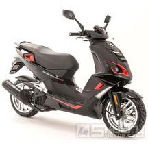 Peugeot Speedfight 4 125i  Euro 4 - barva černá/červená