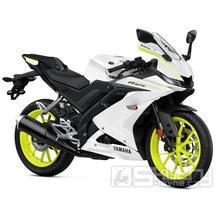 Yamaha R125 - barva bílá