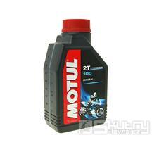 Olej Motul 2T (100 2T) minerální - 1L